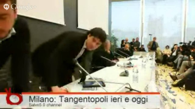 Conferenza Tangentopoli ieri e oggi