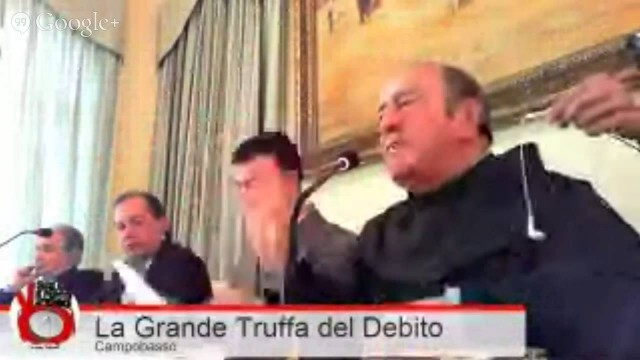 """Convegno """"La Grande Truffa"""" Campobasso 12/12/2013"""