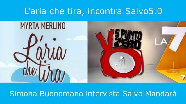 Intervista di Simona Buonomano, l'aria che tira, La7