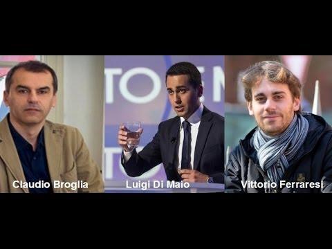 Luigi di Maio e Vittorio Ferraresi asfaltano Claudio Broglia (senatore PD)!