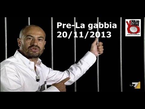 Pre La Gabbia. Fra ME-MMT e Sovranità monetaria c'e' Paragone! 20/11/2013