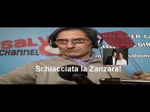 Salvo Mandarà schiaccia la zanzara di Cruciani e Parenzo!
