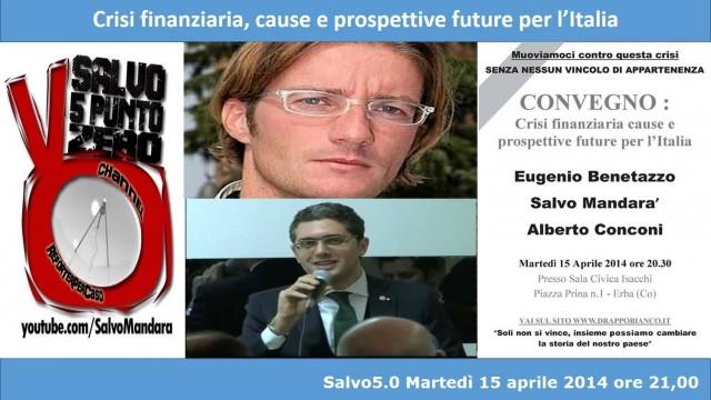 Salvo5.0. Crisi, cause e prospettive. E.Benetazzo, A.Conconi