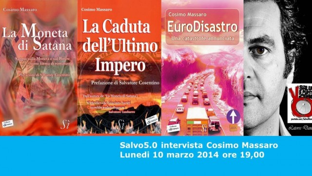 Salvo5.0 intervista Cosimo Massaro. 10/03/2014.