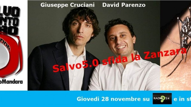 Salvo5.0 SFIDA LA ZANZARA! 28/11/2013