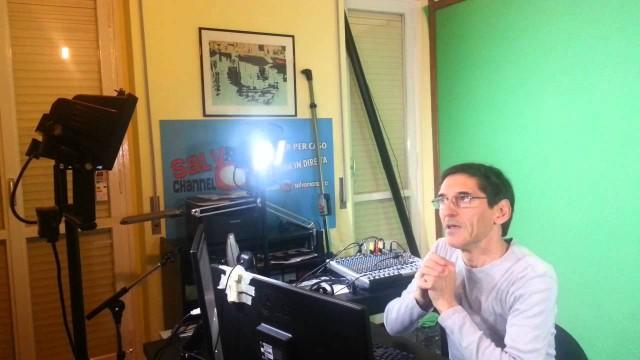 Tutorial allestimento studio Salvo5 0. Green screen/chroma key, luci, wirecast