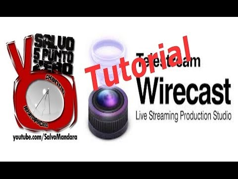 Tutorial Wirecast