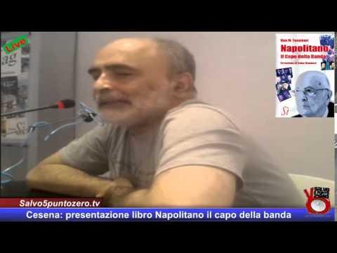 """Presentazione libro """"Napolitano il Capo della banda"""" di Ugo M. Tassinari"""