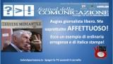 Augias giornalista libero ma soprattutto AFFETTUOSO! Camogli 13/09/2014