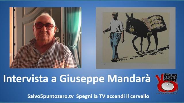 Intervista a Giuseppe Mandarà: un padre, un insegnante, un artista! 28/08/2014