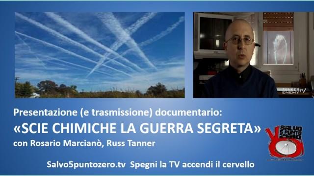 """Presentazione documentario """"Scie chimiche la guerra segreta"""". 03/09/2014"""