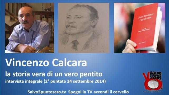 Presentazione della seconda puntata dell'intervista a Vincenzo Calcara. 16/10/2014