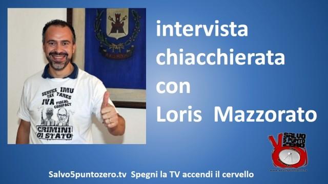 Intervista chiacchierata con Loris Mazzorato dopo il barbaro attacco della stampa! 18/12/2014