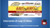 Cuneo, Euro Si Euro No. 13/12/2014. Intervento di Luigi Di Maio