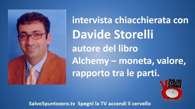 Intervista chiacchierata con l'Avv. Davide Storelli. 15/01/2015