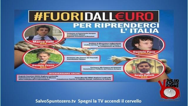 #FuoridallEuro Somma Lombardo 21/02/2015