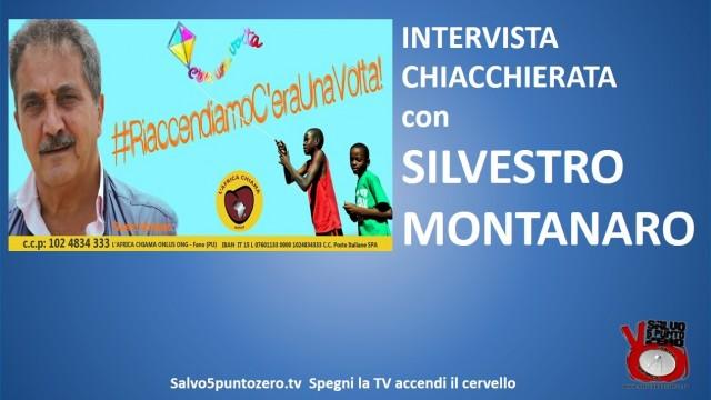 #RiaccendiamoC'eraUnaVolta! Intervista chiacchierata con Silvestro Montanaro. 07/04/2015.