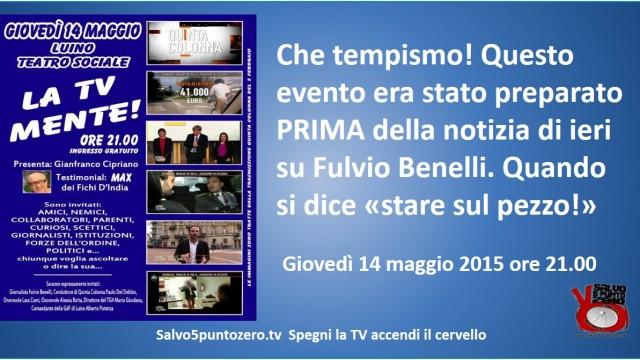 La TV mente! Ecco un tipico falso by Fulvio Benelli.