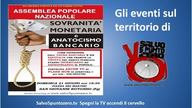 Assemblea Popolare. San Giovanni Rotondo. 23/06/2015