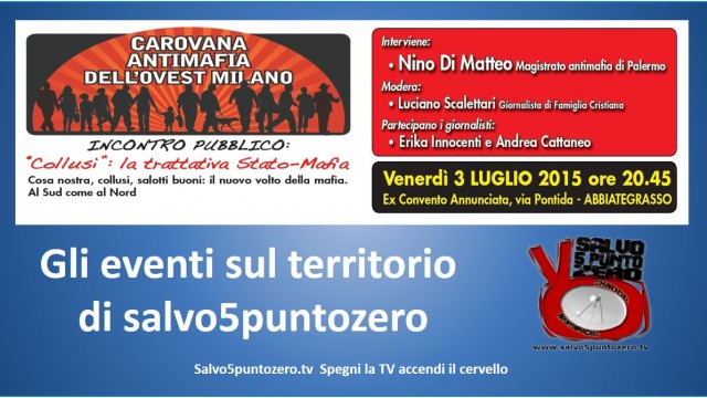 Collusi: trattativa Stato-Mafia. Incontro con Nino Di Matteo. 03/07/2015