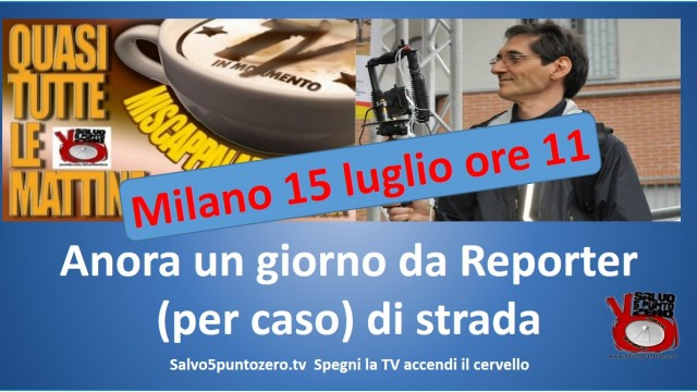 Miscappaladiretta on the road. Speciale Grecia. Reporter (per caso) di strada. 15/07/2015