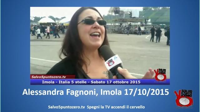 #italia5stelle #imola. Una stupenda performance canora di Alessandra Fagnoni schiava cantante. 17/10/2015
