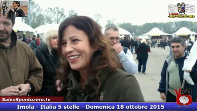 Ho 'martoriato' Giovanna Mangili che per disperazione ha promesso supporto a #denunciaunabanca. #imola #italia5stelle.18/10/2015