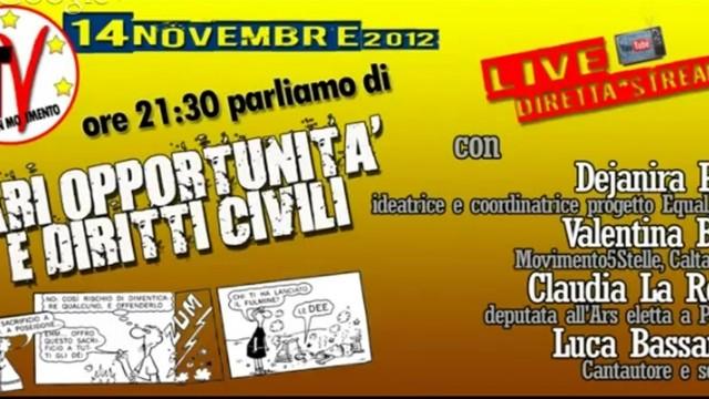 Pari opportunità e diritti civili. 14/11/2015
