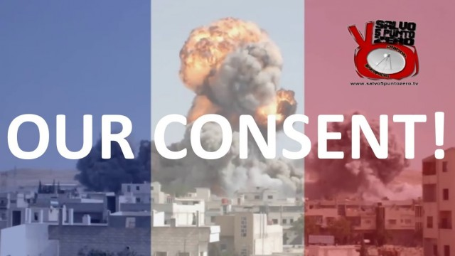 Illuminati need our CONSENT! Last Friday Europe's given its consent to bomb Syria!