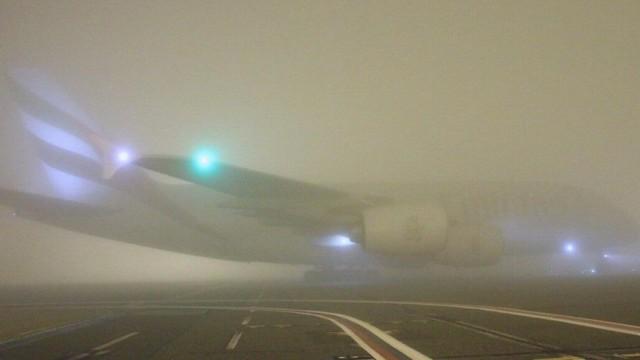 Maledetta nebbia! Saluto da dentro l'aereo…in ritardo di 4 ore.