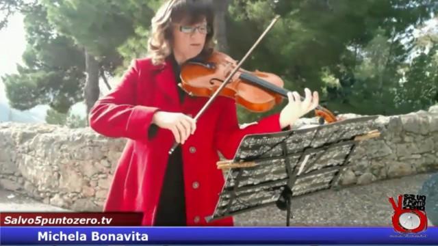Michela Bonavita. Intervista concerto (viola) in una cornice meravigliosa. 12/01/2016