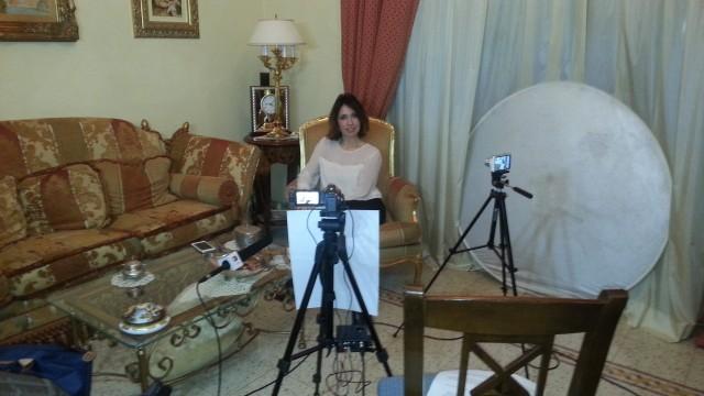 In trasferta sul set del video su Nikola Tesla con Vessela Nikolova. Miscappaladiretta 15/02/2016