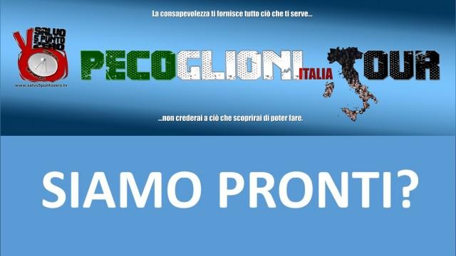 Il Pecoglioni Italia Tour si avvicina. Siamo pronti? Miscappaladiretta 25/02/2016.