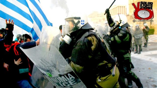 Protests in Greece. Updated news from Katerina a teacher from Athens. 2016/02/14