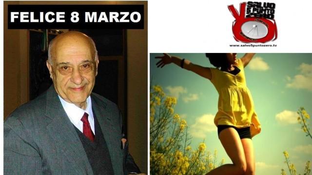Felice 8 marzo. Altro che festa della donna, ricordo del Prof. Auriti. Miscappaladiretta 09/03/2016.