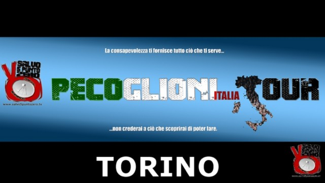 Pecoglioni Italia Tour Torino. 26/03/2016.