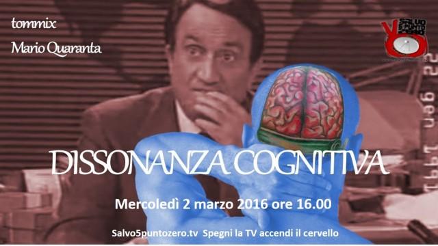 Presentazione in anteprima di 'Dissonanza cognitiva' con Mario Quaranta e Tommix. 02/03/2016.