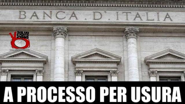 La lobby ABI-Bankitalia sull'usura. Sbanchiamo di Rossella Fidanza. 27a Puntata. 13/04/2016.