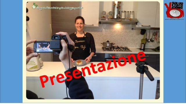 Presentazione della nuova Rubrica Ricette 'umane' con l'ingrediente in più con Francesca Geloni. 11/04/2016