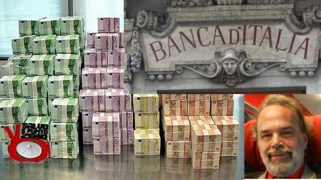 Bankitalia: smarriti 174 miliardi. Li abbiamo ritrovati! Con Marco Saba. 19/07/2016