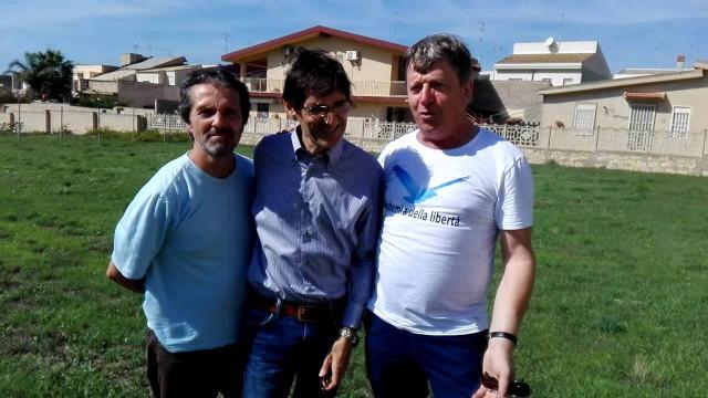 Incontro con Ubaldo Croce e Luigi Pastorello presso la nuova sede di Salvo5puntozero