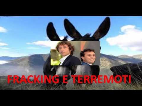 Salvo Mandarà cerca di spiegare ai somari Parenzo e Cruciani la relazione fra FRACKING e terremoti