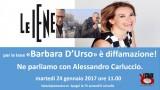 Per le Iene 'Barbara D'Urso' è diffamazione! Ne parliamo con Alessandro Carluccio. Martedì 24 gennaio ore 11.00