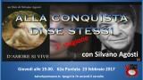 Alla conquista di se stessi con Silvano Agosti. 62a Puntata. Giovedì 23 febbraio ore 19.00
