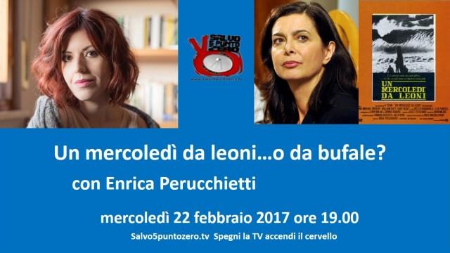 Un mercoledì da leoni…o da bufale? Con Enrica Perucchietti. Mercoledì 22 febbraio ore 19.00