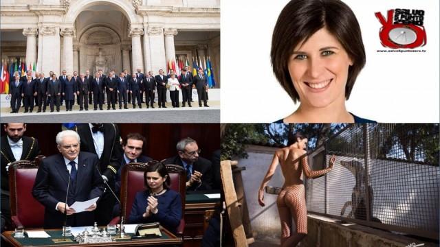 L'Europa è morta viva l'Europa, vai Chiara, salviamo i cani. Miscappaladiretta 27/03/2017.