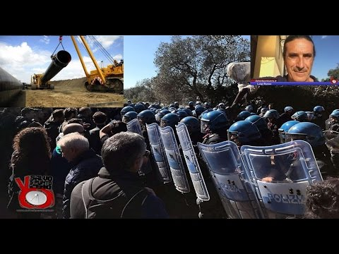 TAP: lo stato contro lo Stato! Intervista con Luigi Russo. 29/03/2017