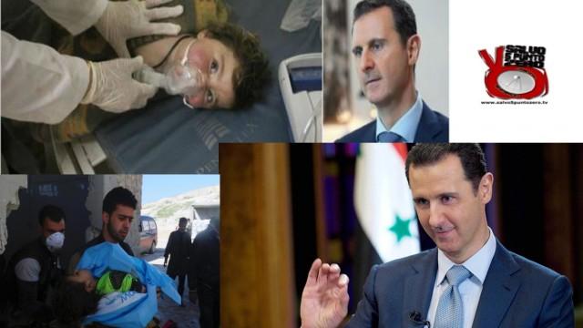 A morte Assad che 'gasa' i bambini! Miscappaladiretta 05/04/2017.