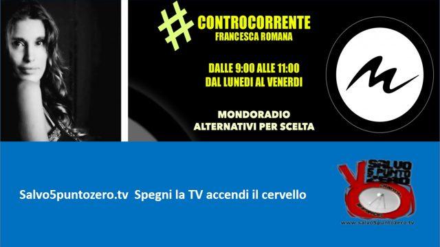 Controcorrente. Francesca Romana intervista Salvo Mandarà: il marciume del sistema. 08/05/2017