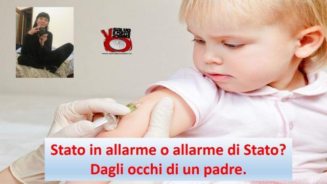 Stato in allarme o allarme di Stato? Dagli occhi di un padre. Intervista con Pier Ardigò. Partecipa Pam Morrigan. 23/05/2017